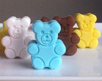 Teddy Bear Baby Shower Favors - Teddy Bear Favors, Teddy Bear Party Favors, Teddy Bear Birthday Party - Set of 10
