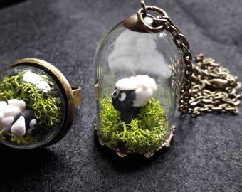 Pendant shetland sheep
