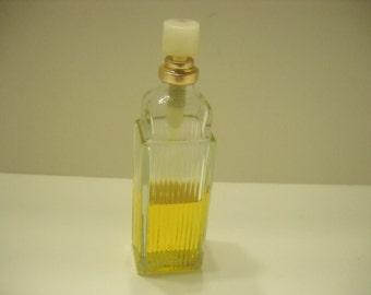 Vintage 1979 Night Blooming Jasmine Cologne by Jovan (13) 1.5 fl. oz  Bottle--Half full