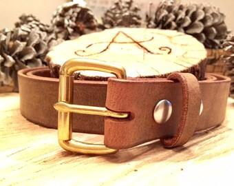 Buffalo Leather Belt
