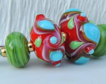 Handmade Lampwork Bead Destash 284