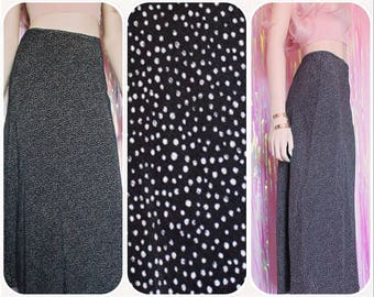 High Waisted Maxi Grunge Skirt - Grunge skirt 90s skirt 90s Grunge 90s Clothing Witchy 90s Goth Grunge skirt