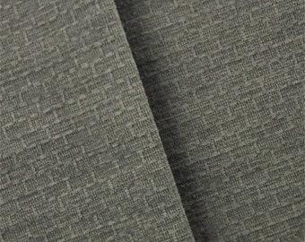Smoke Gray De Leo Victorino Chenille Home Decorating Fabric, Fabric By The Yard