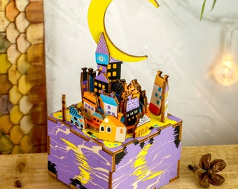 Midsummer Night's Dream DIY music box handcraft toy