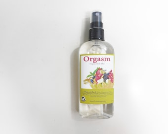 Orgasm  Body Splash - Melons, Citrus and Berries - Body Mist, Shimmering Body Spray -  Spray Mist - Perfumed Spray - 4.7 oz Spray