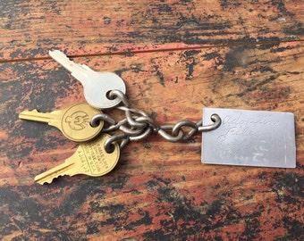 Vintage Keys, Set of Vintage Keys, Adoption Records Keys