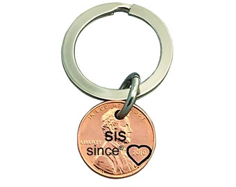 Sis Since Engraved Penny - Gift for Her - Daughter Gift For - Engraved Penny - Sis Gift For - New Sis - Sister gift - Birthday