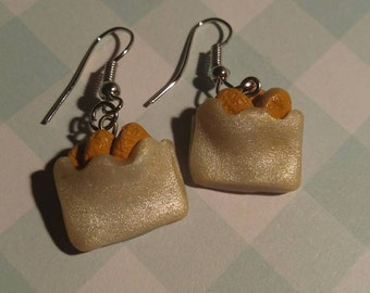 Chicken Nuggets Earings