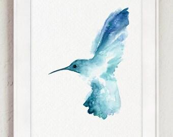 Pouces Coffret Cadeau Bleu Oriental Oiseau S CM1gM