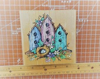 Stampendous Three Home Nest 1997