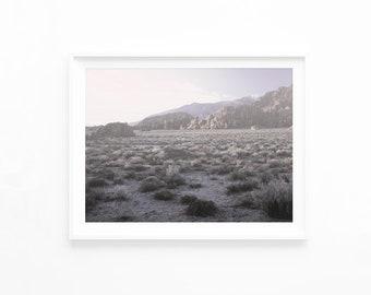 Desert Photography Printable Art, Desert Print, Southwestern Decor Desert Sunset Art Print Photo California Desert Printable Download, decl