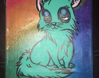Rainbow Pride Cat