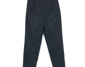Rare! Vintage Black Balmain Slack Pant Cotton Pant Casual Pant