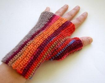 Crochet Pattern, Fingerless Gloves Pattern, Fingerless Mitts Pattern, Handwarmer Crochet Pattern