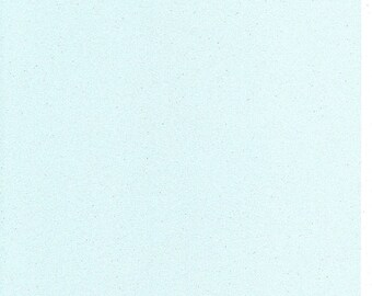 Pastel Baby Blue Glitter Card A4 soft touch low shed 1 sheet
