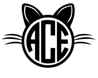 Cat Monogram