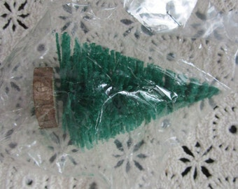 Artificial Christmas tree with wooden stand