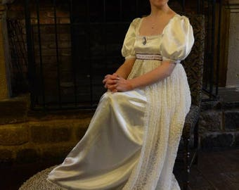 Design Your Own Bespoke Regency Era Gown