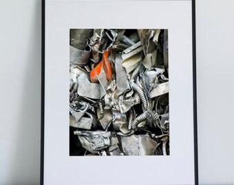 Red, Photographic Print, 5x7, 8x10