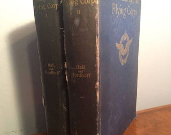 The Lafayette Flying Corps 1920 2 Two Volume Set Military Books RARE!
