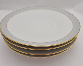 Vintage Hutschenreuther Saucer / Dessert Plate - Set of 4 - Hothenberg Germany