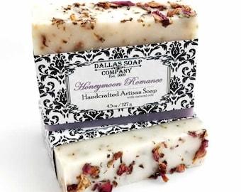 Honeymoon Romance Handcrafted Artisan Soap