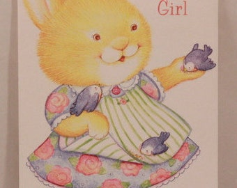 NEW! Religious Birthday Girl by DaySpring . 1 Single Card with Envelope.