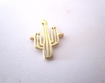 Gold cactus connector