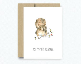 Joy to the Squirrel