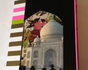 Taj Mahal Handmade Journal Travel