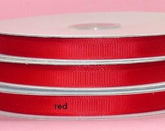 1.5 inch x 25 yds Grosgrain Ribbon  -RED