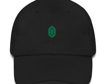 Rupee Dad Hat - Rupee Dad Cap - Rupee Hat - Rupee Cap - Green Rupee Dad Hat - Green Rupee Dad Cap - Green Rupee Hat - Green Rupee Cap - LOZ
