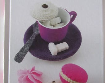 """Book """"Felt sweets"""" boxes and useful items - 40 models"""
