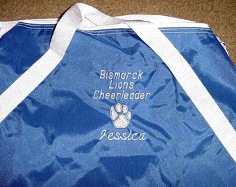 Cheerleading Squad Competition Duffle Bag Many Colors Personalized Embroidered Girls