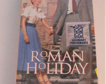 VHS Tape, New Sealed, Roman Holiday, Classic, New VHS Movie, Gregory Peck, Audrey Hepburn