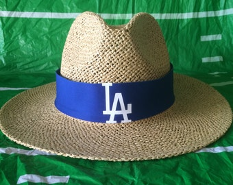 Los Angeles Dodgers straw hat