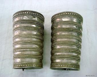 vintage antique bracelet tribal silver bracelet bangle cuff old silver jewellery