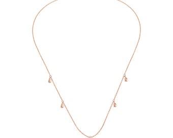 Multi Small Drop Necklace