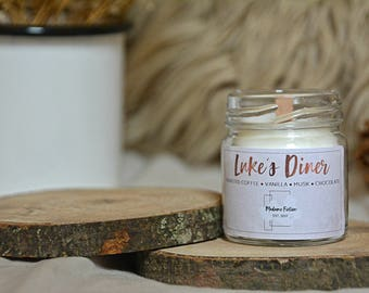 Luke's Diner - 1.5oz Candle - Gilmore Girls - Scented Soy Candle - Book Lover Gift