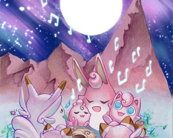 Mt Moon A5 print