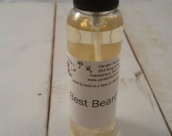 Carden Gentleman Best Beard Oil Organic Oils Spray Wet or Dry Use
