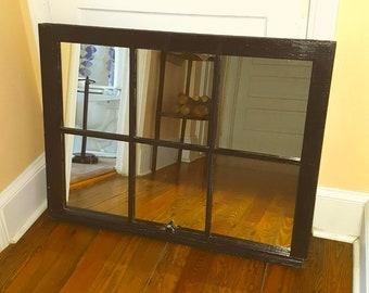 Window Pane Mirror Etsy