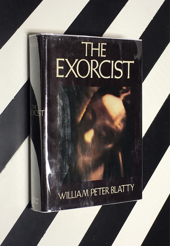 The Exorcist by William Peter Blatty (1973) hardcover book