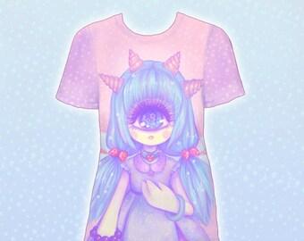 "Pink ""Pastel-Fairy"" T-Shirt"