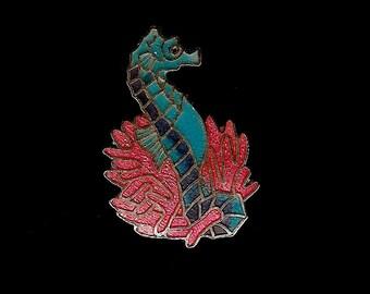 Seahorse Vintage Lapel Pin — SOUVENIR