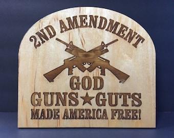 2nd Amendment Sign