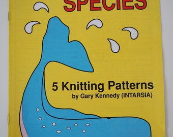 Endangered species knitting patterns by Gary Kennedy