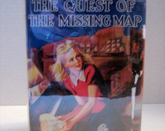 The Quest of the Missing Map Early Printing by Carolyn Keene