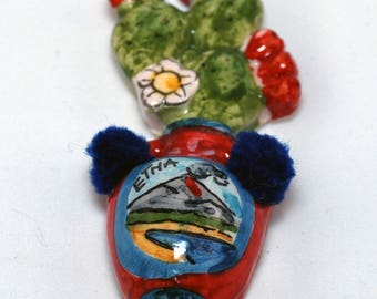 "Traditional Sicilian Magnet ""Bummulu"""