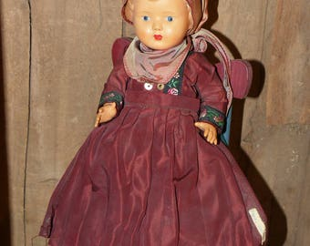 Celluloid Antique Doll Germany Farro Danmark - 1327